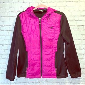 NEW BALANCE Puffer Sweatshirt Jacket